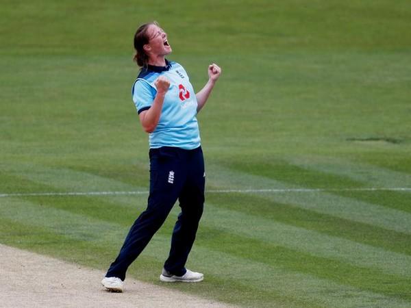 England cricketer Anya Shrubsole