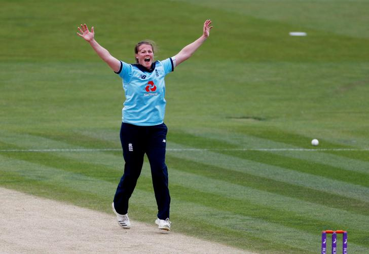 England pacer Anya Shrubsole