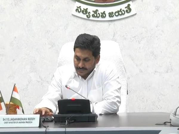 Andhra Pradesh Chief Minister YS Jaganmohan Reddy (Photo/ANI)