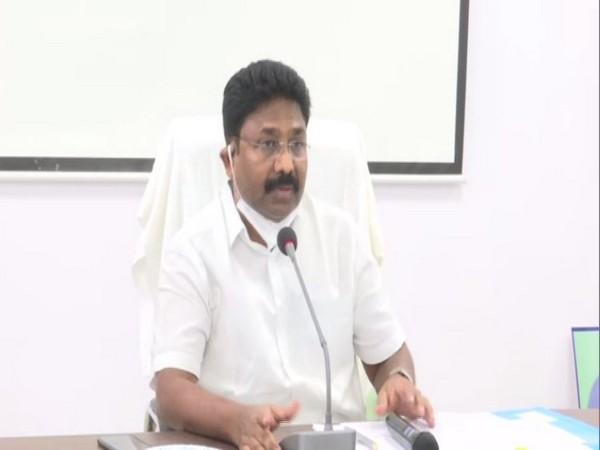 Andhra Pradesh Education Minister Adimulapu Suresh. (Photo/ANI)