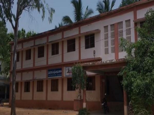 Visuals of the tribal welfare department run school in East Godavari in Andhra Pradesh. Photo/ANI
