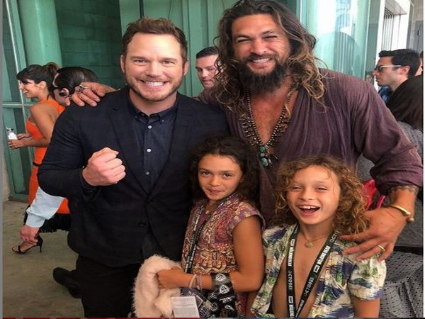 Jason Momoa and Chris Pratt (Image courtesy: Instagram)
