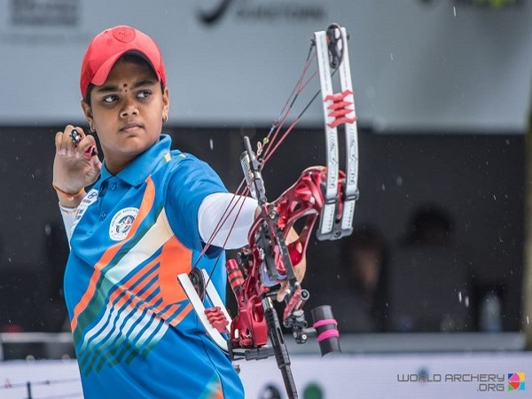 Indian archer Vennam Jyothi Surekha