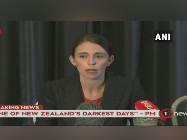 New Zealand Prime Minister Jacinda Ardern at the presser on Friday