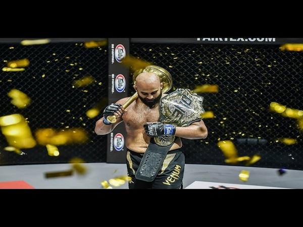 MMA fighter Arjan