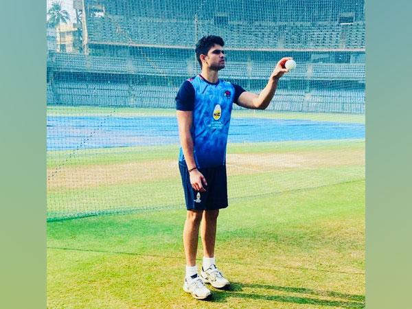 Legendary batsman Sachin Tendulkar's son Arjun Tendulkar