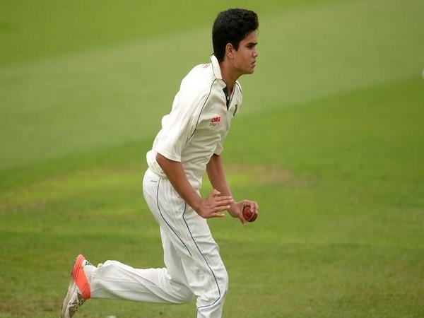 Left-arm pacer Arjun Tendulkar