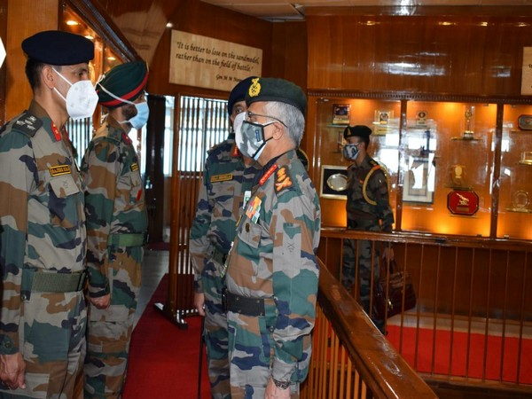 Chief of the Army Staff, General MM Naravane at the Army Training Command on Friday.