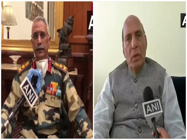 Army Chief General Manoj Mukund Naravane on Friday met Defence Minister Rajnath Singh and briefed him about the ground situation in Ladakh sector.