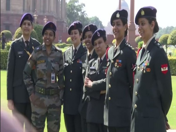 A total of 9,118 women are serving as officers in the three defence forces. (Photo/ANI)