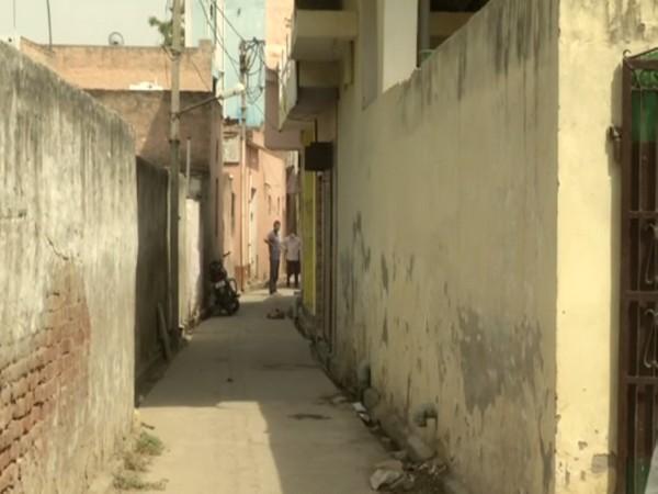 Visuals from Jalalpur village. (Photo/ ANI)