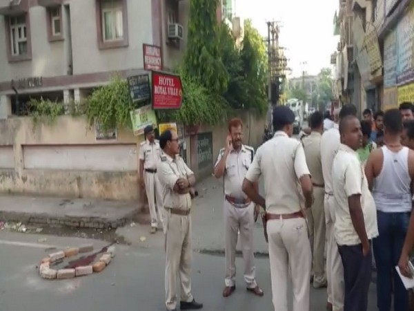 Visuals of incident site near Kidwaipuri Park in Patna.