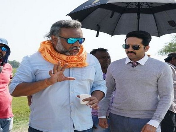 Director Anubhav Sinha with actor Ayushmann Khurrana (Image courtesy: Instagram)