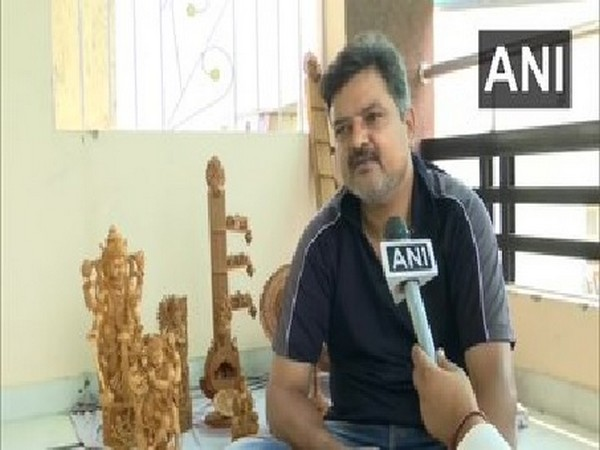 Mahesh Jangid, an artisan speaking to ANI in Jaipur, Rajasthan. [Photo/ANI]