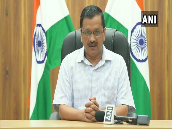 Arvind Kejriwal addresses a press conference in New Delhi [Photo/ANI]