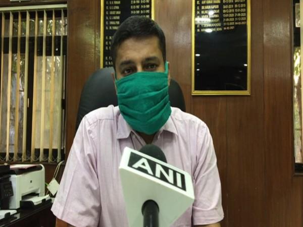 Harinarayanchari Mishra, IGP Indore (Photo/ANI)
