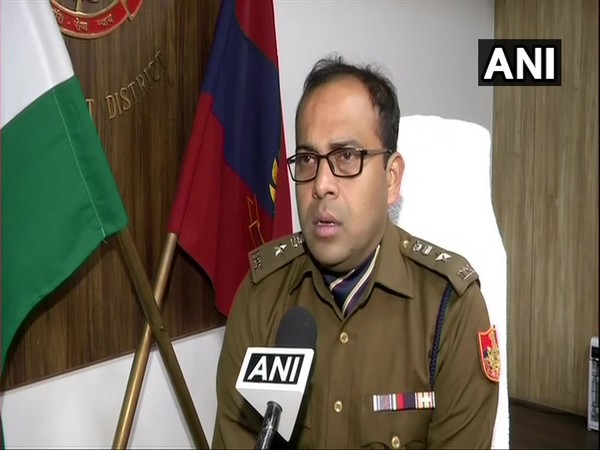 Devendra Arya, DCP, South-West talking to ANI in New Delhi on Monday