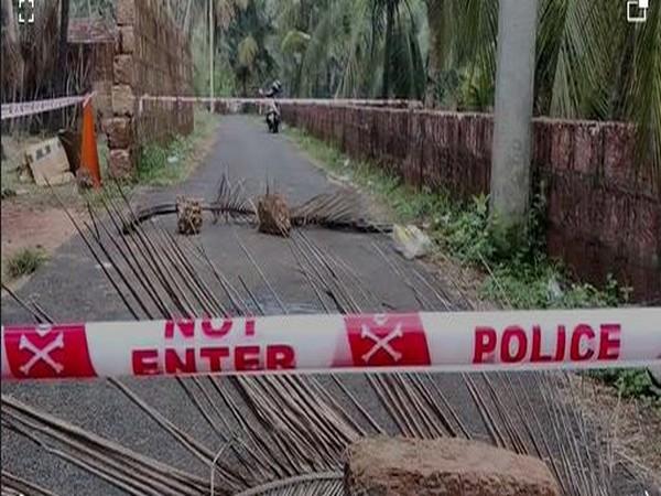 Visuals from the crime scene (Photo/ANI)