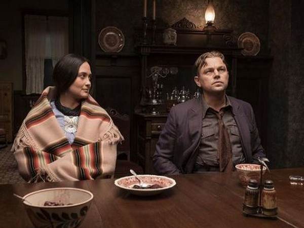 Leonardo DiCaprio, Lily Gladstone in a still from 'Killers Of The Flower Moon' (Image Source: Instagram)