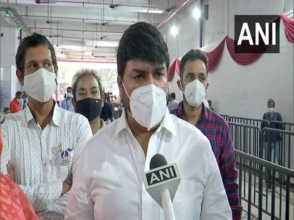 Shiv Sena leader Rahul Shewale (file photo)