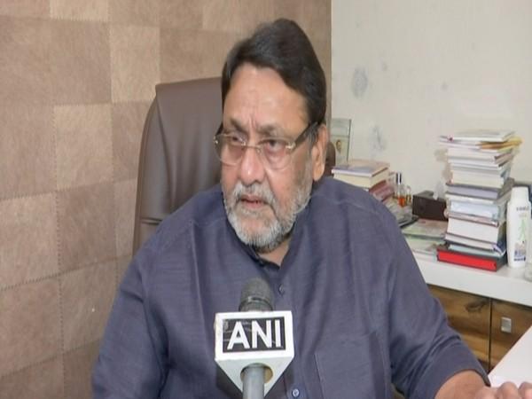 Maharashtra Cabinet Minister Nawab Malik speaking to ANI on Tuesday