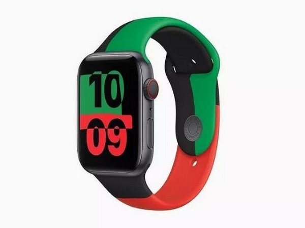 Black unity collection Apple watch (Image courtesy: Instagram)