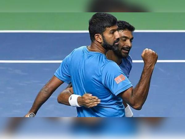 Rohan Bopanna and Divij Sharan (Photo: Twitter/SAI Media)