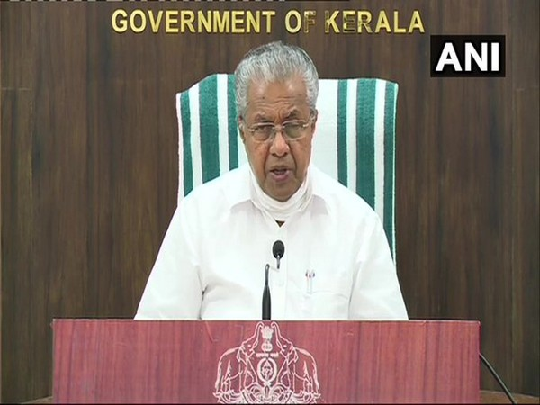 Kerala Chief Minister Pinarayi Vijayan (file pic/ANI)