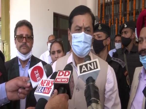 Union Minister of AYUSH Sarbananda Sonowal (Photo/ANI)