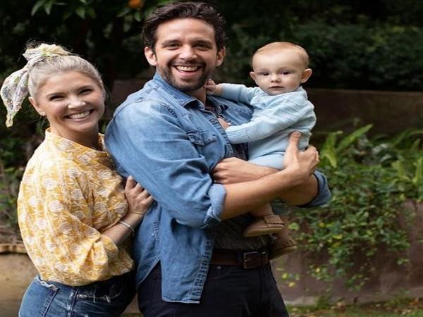 Broadway actor Nick Cordero, Amanda Kloots and their baby (Image Source: Instagram)
