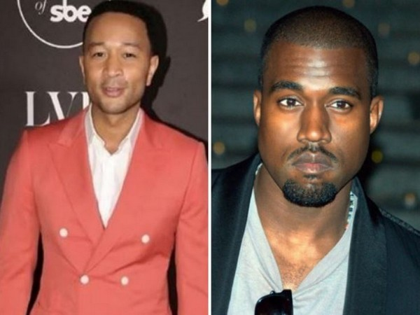 John Legend and Kanye West (Image courtesy: Instagram)