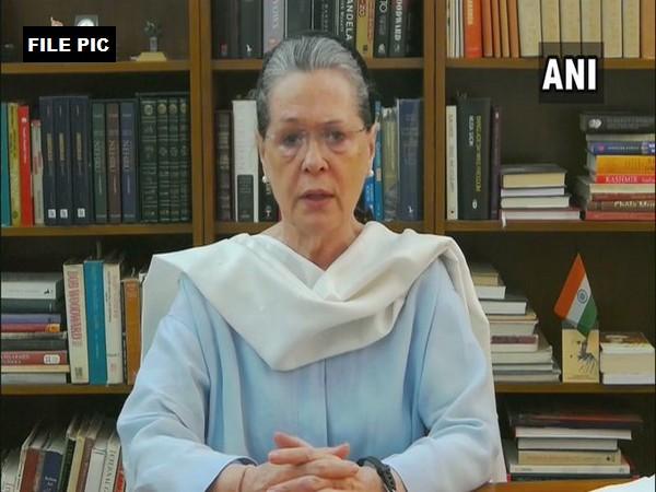 Congress President Sonia Gandhi (file pic/ANI).
