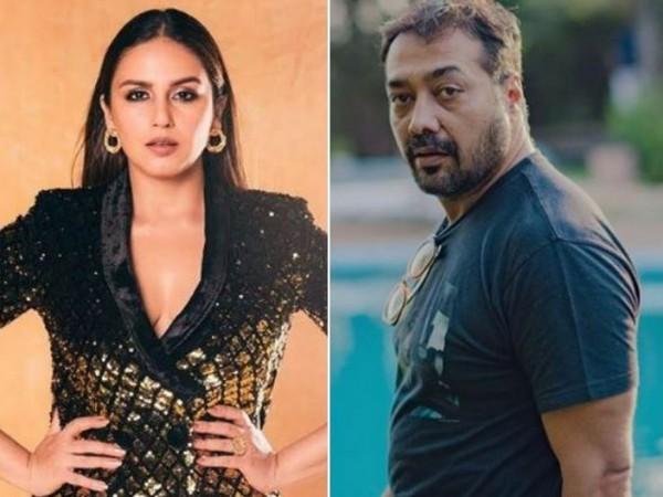 Huma Qureshi, and Anurag Kashyap (Image courtesy: Instagram)