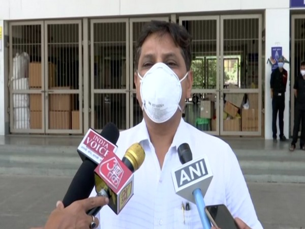 JV Modi, Superintendent, Civil Hospital speaking to ANI on Tuesday.