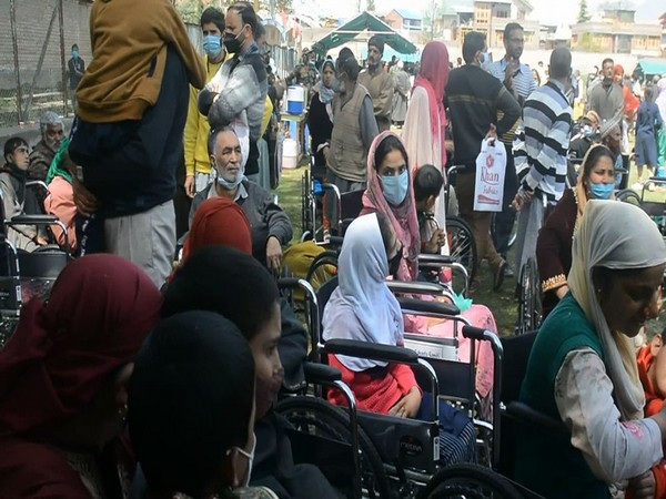 Visual from the camp for disabled in  J-K's Bijbehara
