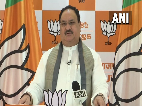 Bharatiya Janata Party national president Jagat Prakash Nadda (Photo/ANI)
