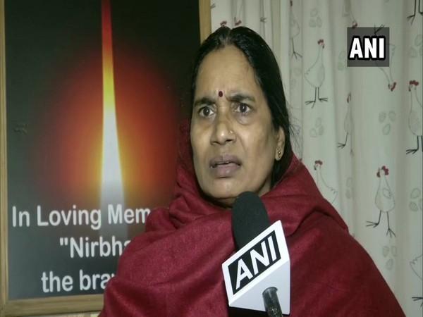 Nirbhaya's mother Asha Devi (file pic)