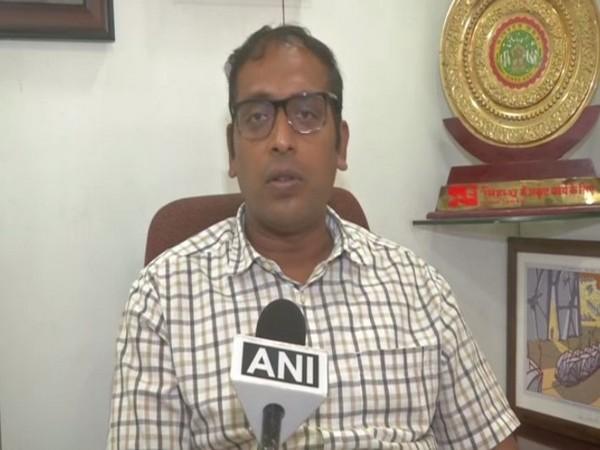 Indore Municipal Commissioner Asheesh Singh speaking to ANI on Sunday. Photo/ANI