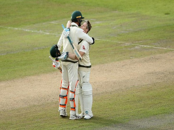 Australia declared first innings at the score of 497/8