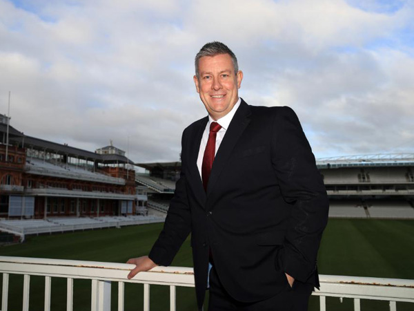 England's director of cricket Ashley Giles