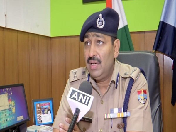Director General of Police (Law and Order) Ashok Kumar speaking to ANI in Dehradun on Friday. Photo/ANI