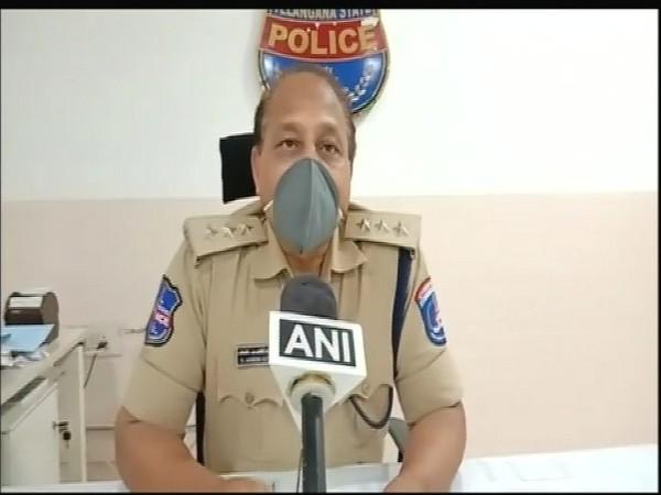 ACP Ashok Kumar Goud of RGIA Police Station. (Photo/ANI)