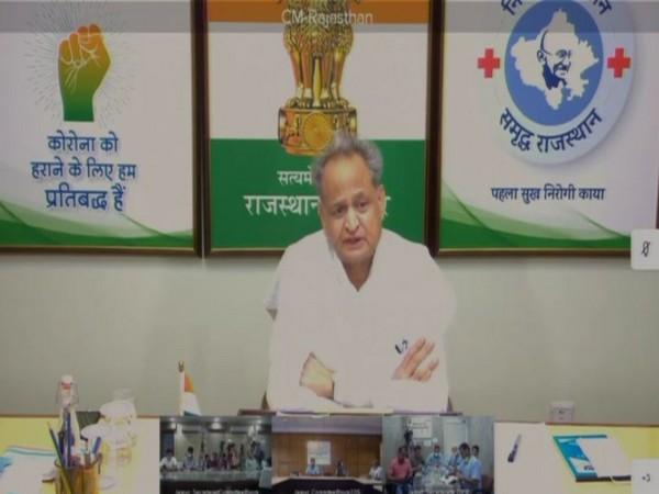 Rajasthan Chief Minister Ashok Gehlot.