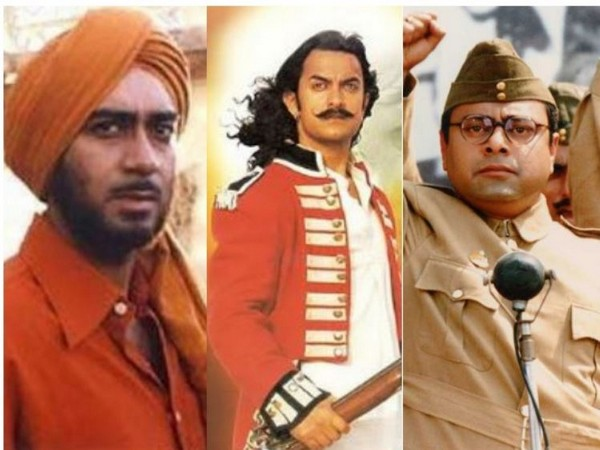 Ajay Devgn, Aamir Khan and Sachin Khedekar (Image courtesy: Twitter and Instagram)
