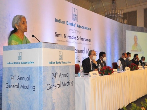 Union Minister Nirmala Sitharaman at the event in Mumbai (Photo/PIB)