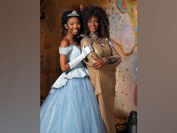 Brandy and Whitney Houston (Image courtesy: Instagram)
