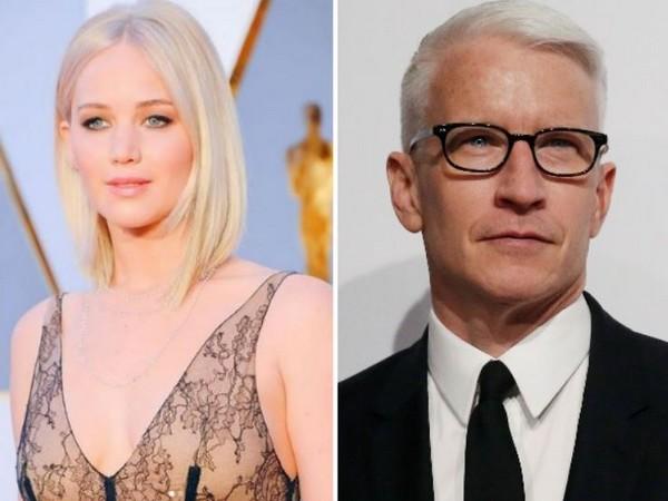 Jennifer Lawrence and Anderson Cooper (Image courtesy: Instagram)
