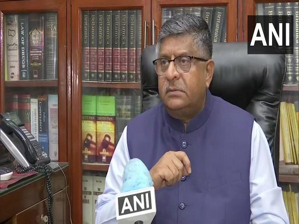 Union Minister for Electronics and Information Technology Ravi Shankar Prasad (Filw photo)