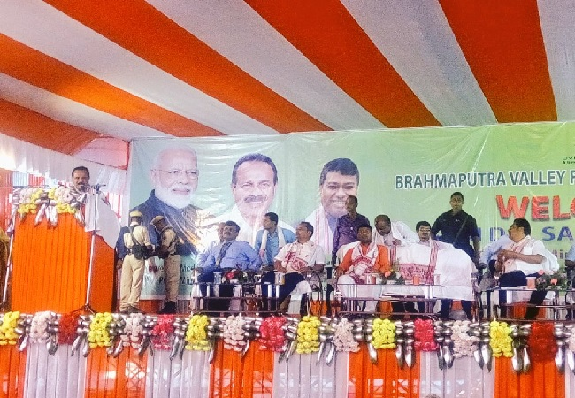 Image source: Twitter handle of Union Minister Sadananda Gowda.