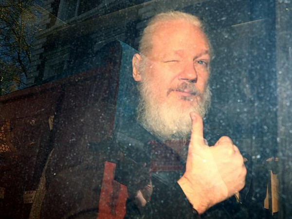 WikiLeaks founder Julian Assange appears at the Westminster Magistrates' Court on Thursday